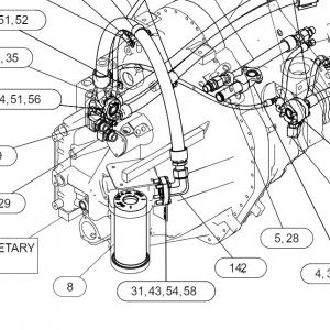 3283655 фильтр трансмиссии
