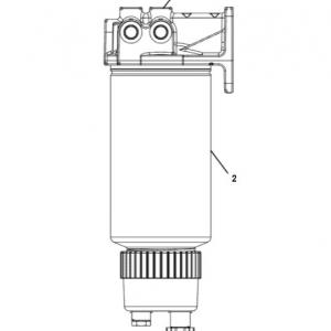 2129431 фильтр топливный сепаратор