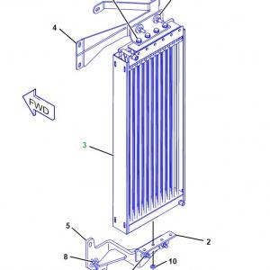 2524915 радиатор кондиционера