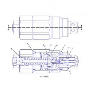 3527122 клапан гидравлики
