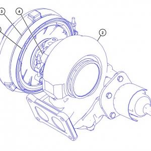 4503343 турбокомпрессор