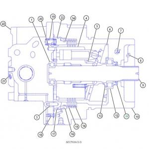 5515111 манжетное уплотнение гидромотора
